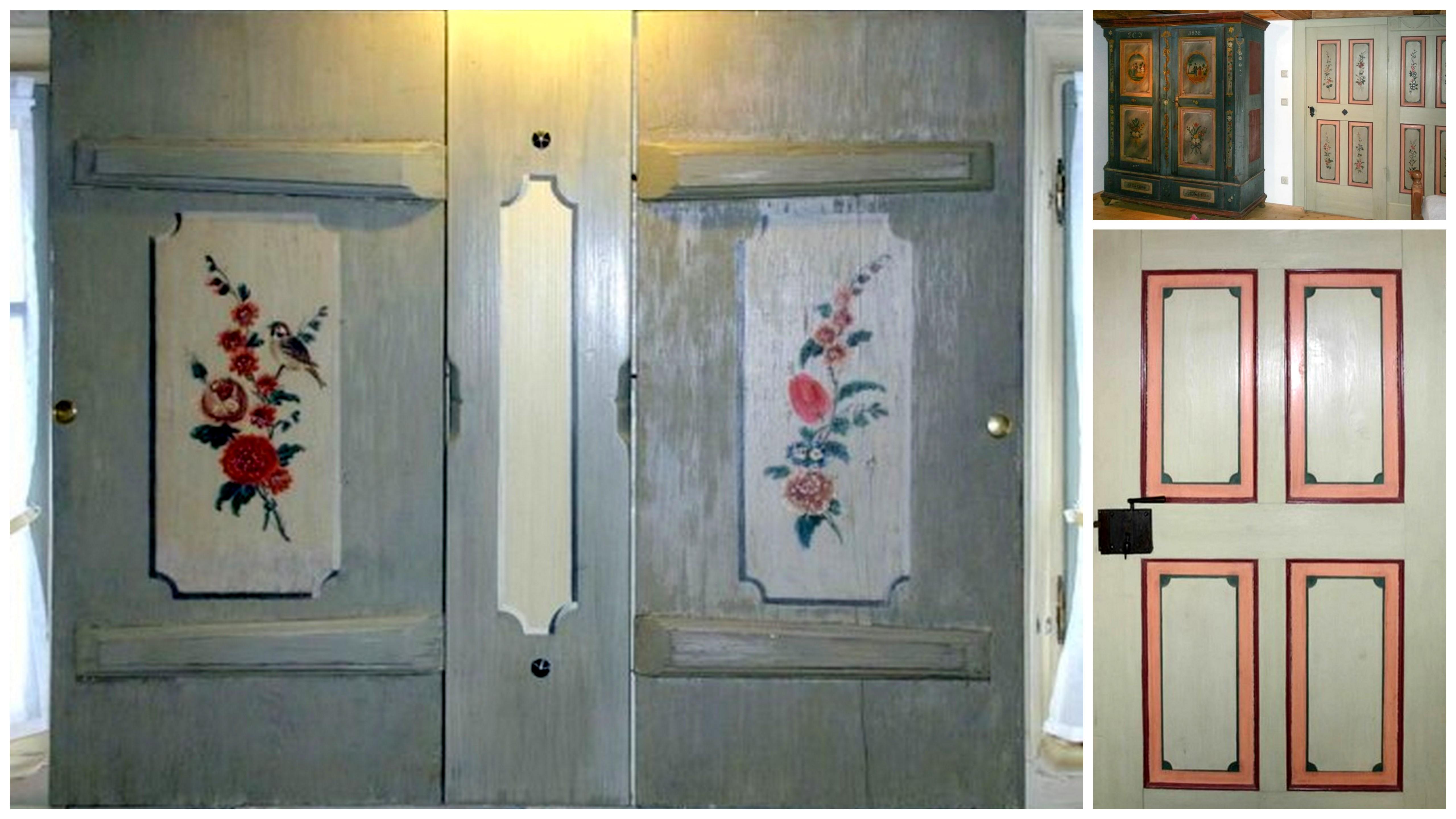 Türen, Wandschränke und Schiebeläden