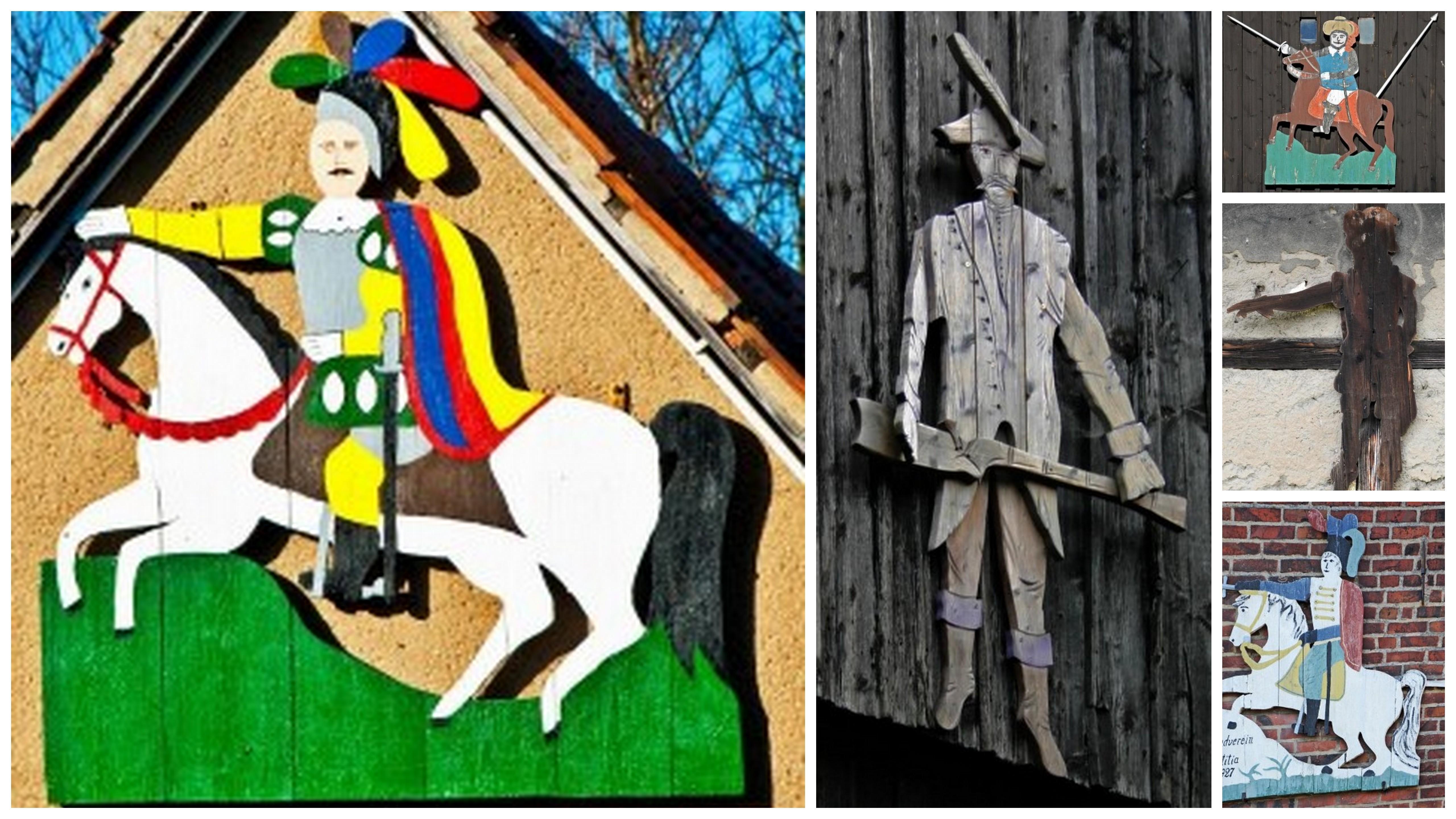 Reiter- und Ritterfiguren