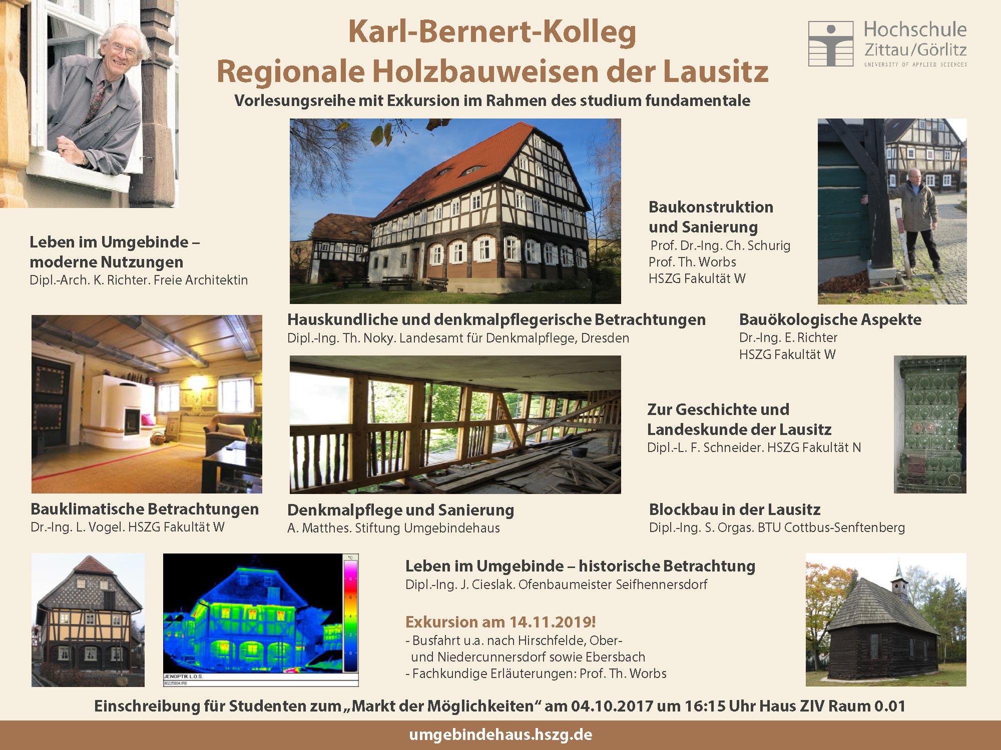 Plakat Karl-Bernert-Kolleg